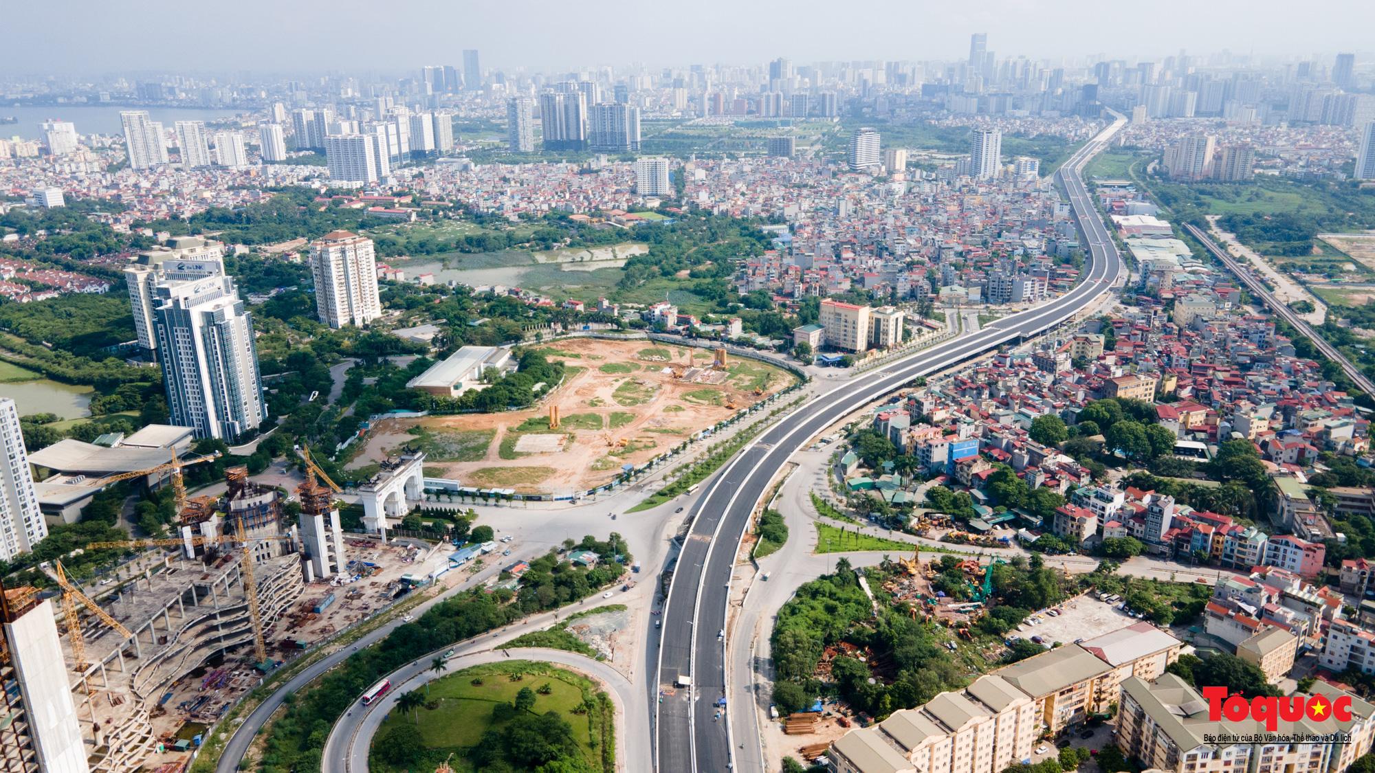 Dấu ấn những công trình giao thông tạo nên diện mạo mới cho Thủ đô Hà Nội năm 2020 - Ảnh 19.