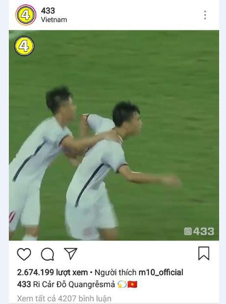 Tạp chí bóng đá hàng đầu thế giới đăng tải clip bàn thắng của Quang Hải - Ảnh 3.