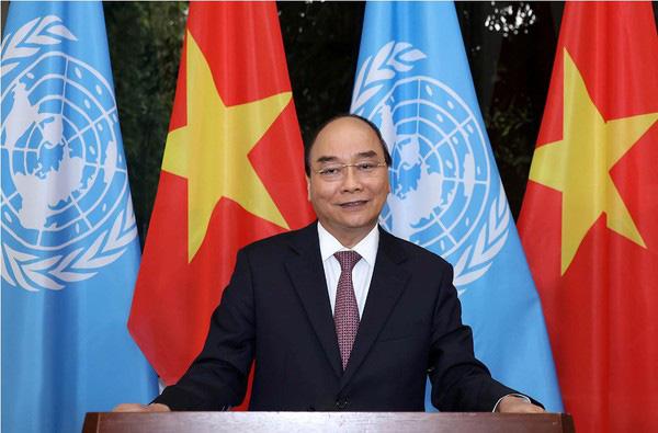 Thủ tướng Nguyễn Xuân Phúc: Việt Nam sẵn sàng cùng cộng đồng quốc tế vượt qua đại dịch - Ảnh 1.