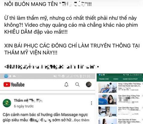 Một bệnh viện thẩm mỹ ở Hà Nội sử dụng hình ảnh của khách hàng kèm những ngôn ngữ nhạy cảm để quảng cáo - Ảnh 1.