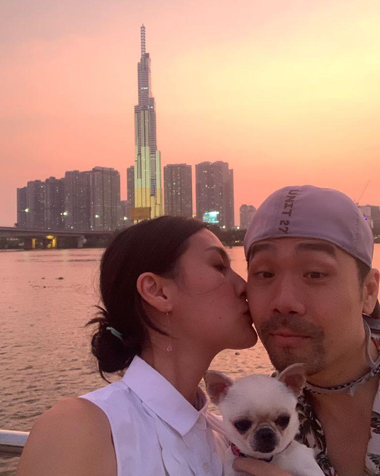 Kathy Uyên lần đầu công khai bạn trai sau khi chia tay mối tình 10 năm, tưởng ai xa lạ hóa ra bạn thân của vợ chồng Hà Tăng  - Ảnh 3.