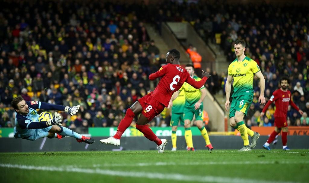 Không có bất ngờ nào xảy ra, Liverpool dễ dàng giành chiến thắng 1-0 trước Norwich đội hiện đang xếp cuối BXH - Ảnh 3.
