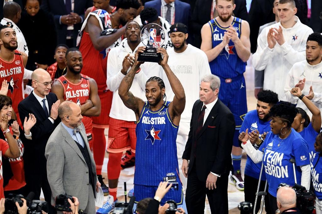 Kawhi Leonard đoạt danh hiệu MVP, dẫn dắt Team LeBron giành chiến thắng kịch tính trước Team Giannis - Ảnh 3.