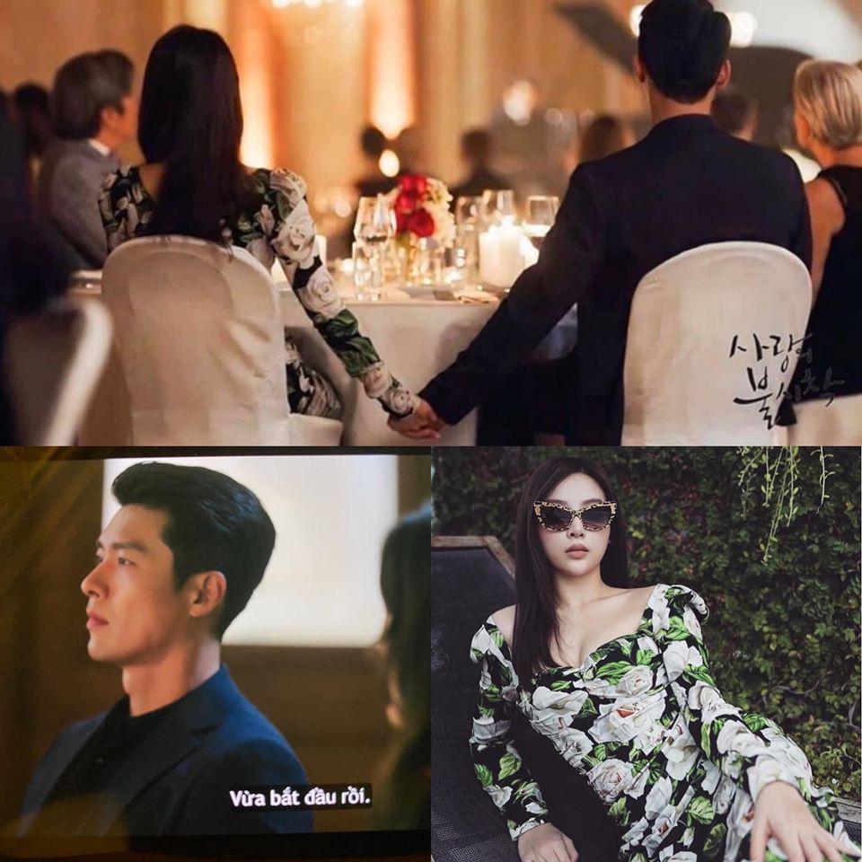 """Dân mạng tá hỏa với hình ảnh hot mom Huyền Baby nắm tay Hyun Bin """"Hạ cánh nơi anh"""", hóa ra sự thật là thế này - Ảnh 1."""