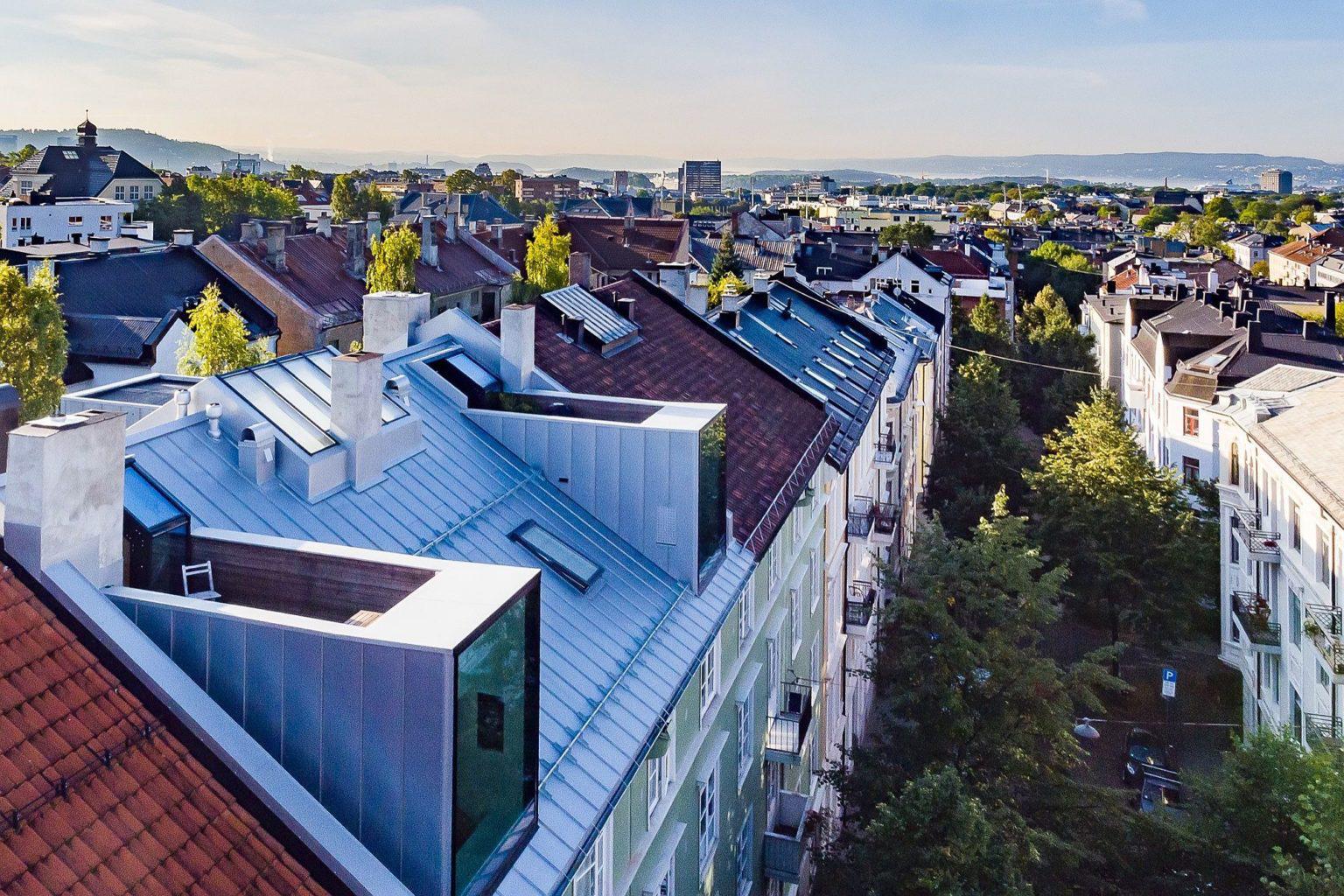 Biến hóa gác xép cũ ở thành phố Oslo thành căn hộ hiện đại, xinh xắn mới thấy bạn đã phải chết mê - Ảnh 3.