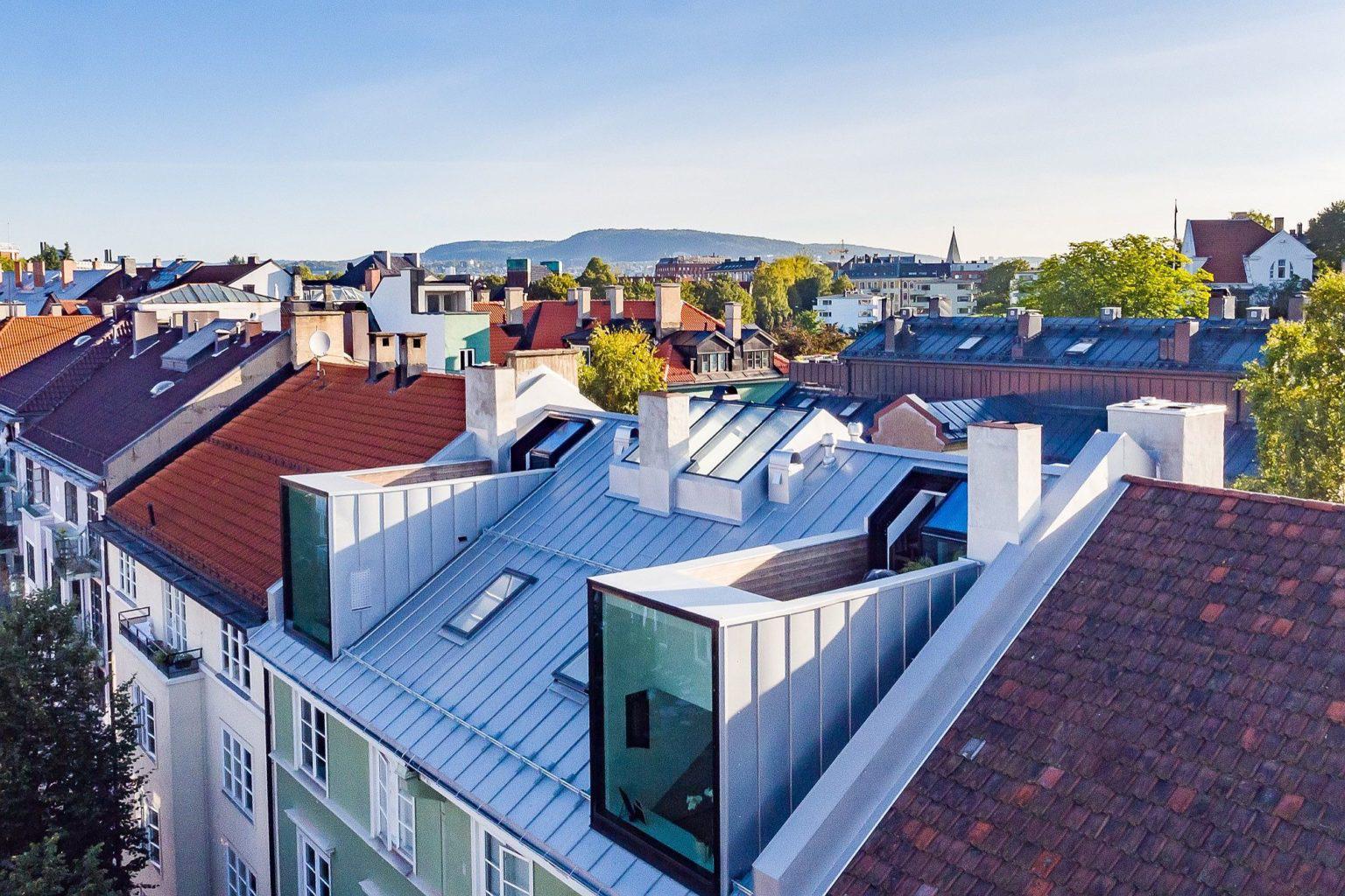 Biến hóa gác xép cũ ở thành phố Oslo thành căn hộ hiện đại, xinh xắn mới thấy bạn đã phải chết mê - Ảnh 4.