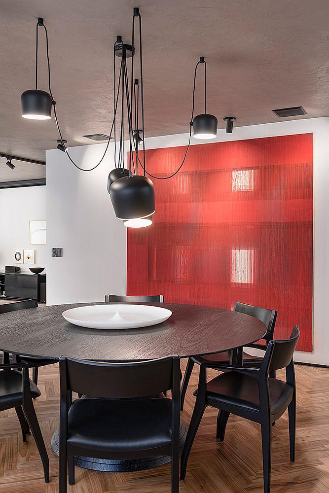 Căn hộ làm từ bê tông sáng tạo đẹp mắt với sự đánh bóng pha trộn sắc màu - Ảnh 4.