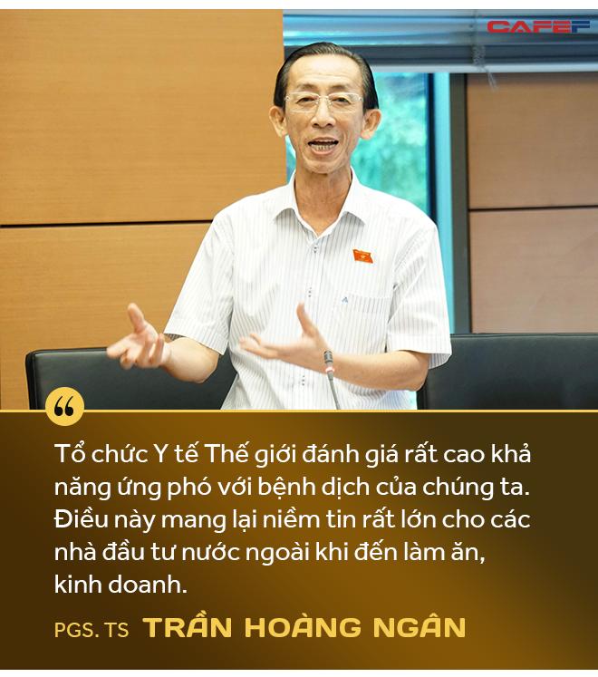 PGS.TS. Trần Hoàng Ngân: Dịch Covid-19 là cơ hội để Việt Nam đẩy mạnh tái cơ cấu toàn bộ nền kinh tế và củng cố niềm tin cho nhà đầu tư - Ảnh 6.