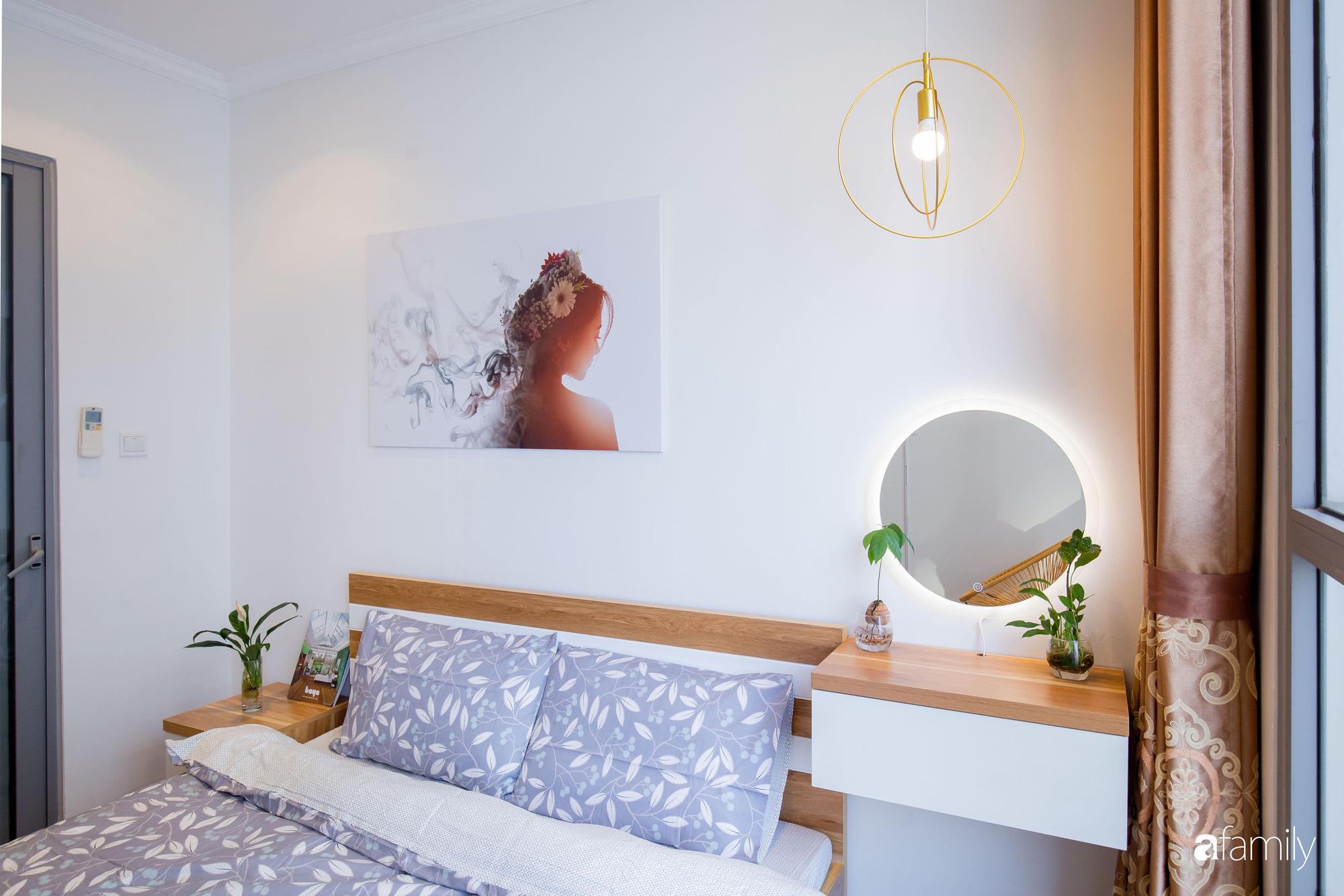 Thiết kế đơn giản với nội thất tiện nghi, căn hộ 53m2 trên tầng cao khiến nhiều người ao ước sở hữu ở Hà Nội - Ảnh 15.