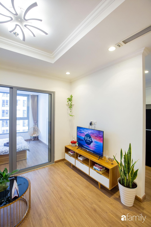 Thiết kế đơn giản với nội thất tiện nghi, căn hộ 53m2 trên tầng cao khiến nhiều người ao ước sở hữu ở Hà Nội - Ảnh 6.