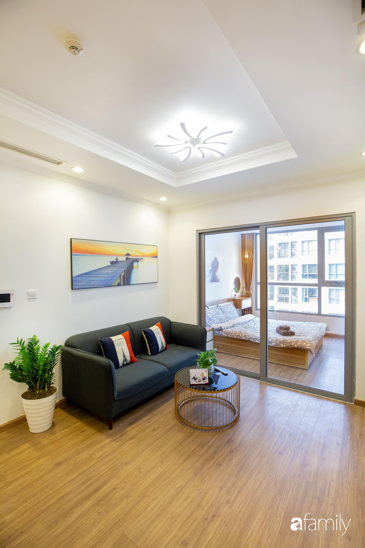 Thiết kế đơn giản với nội thất tiện nghi, căn hộ 53m2 trên tầng cao khiến nhiều người ao ước sở hữu ở Hà Nội - Ảnh 4.