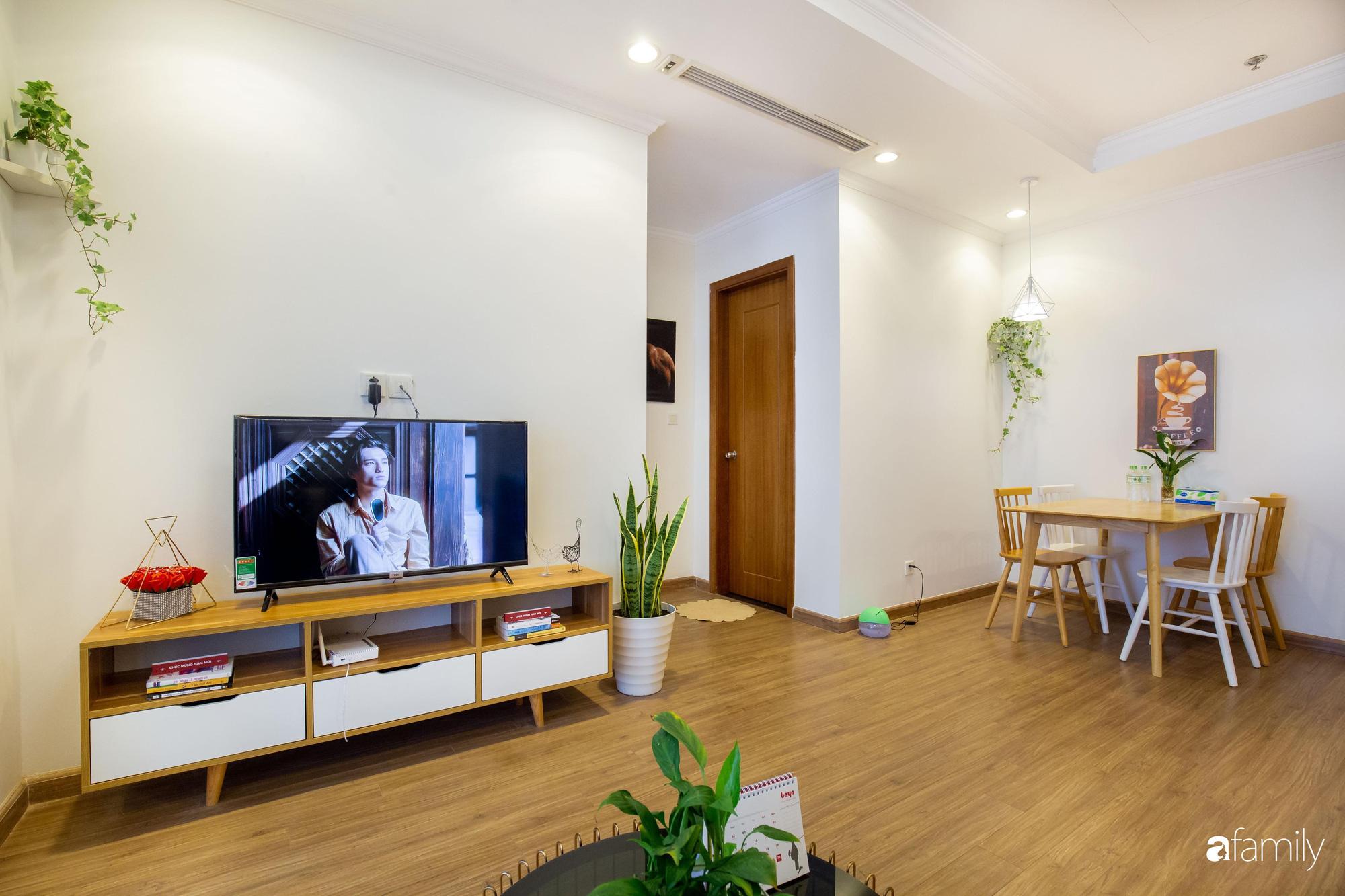 Thiết kế đơn giản với nội thất tiện nghi, căn hộ 53m2 trên tầng cao khiến nhiều người ao ước sở hữu ở Hà Nội - Ảnh 1.
