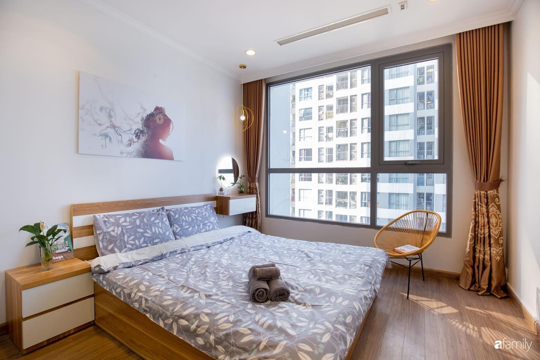 Thiết kế đơn giản với nội thất tiện nghi, căn hộ 53m2 trên tầng cao khiến nhiều người ao ước sở hữu ở Hà Nội - Ảnh 11.