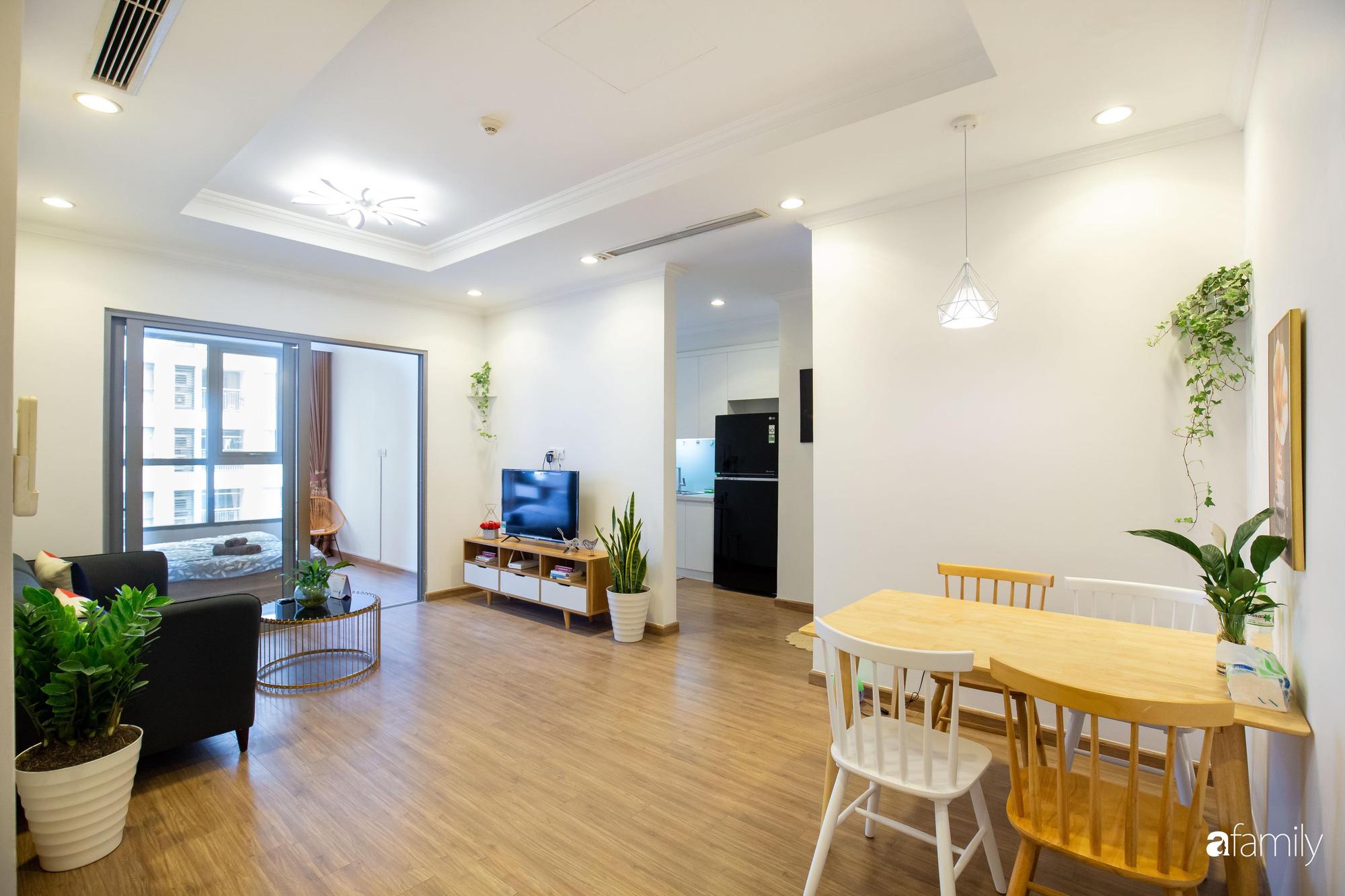 Thiết kế đơn giản với nội thất tiện nghi, căn hộ 53m2 trên tầng cao khiến nhiều người ao ước sở hữu ở Hà Nội - Ảnh 2.