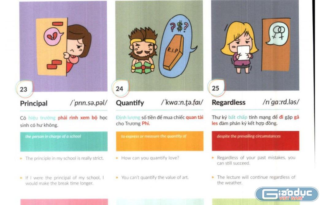 Bức xúc trước sách Tiếng Anh dạy học vẹt, minh họa bằng hình ảnh trẻ hút thuốc lào, con thản nhiên xúc phạm mẹ - Ảnh 3.
