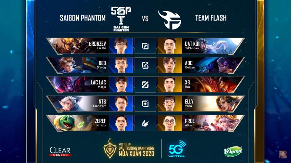 Team Flash dễ dàng đánh bại Saigon Phantom với tỉ số 3-1 trong ngày mở màn ĐTDV mùa Xuân 2020 - Ảnh 1.
