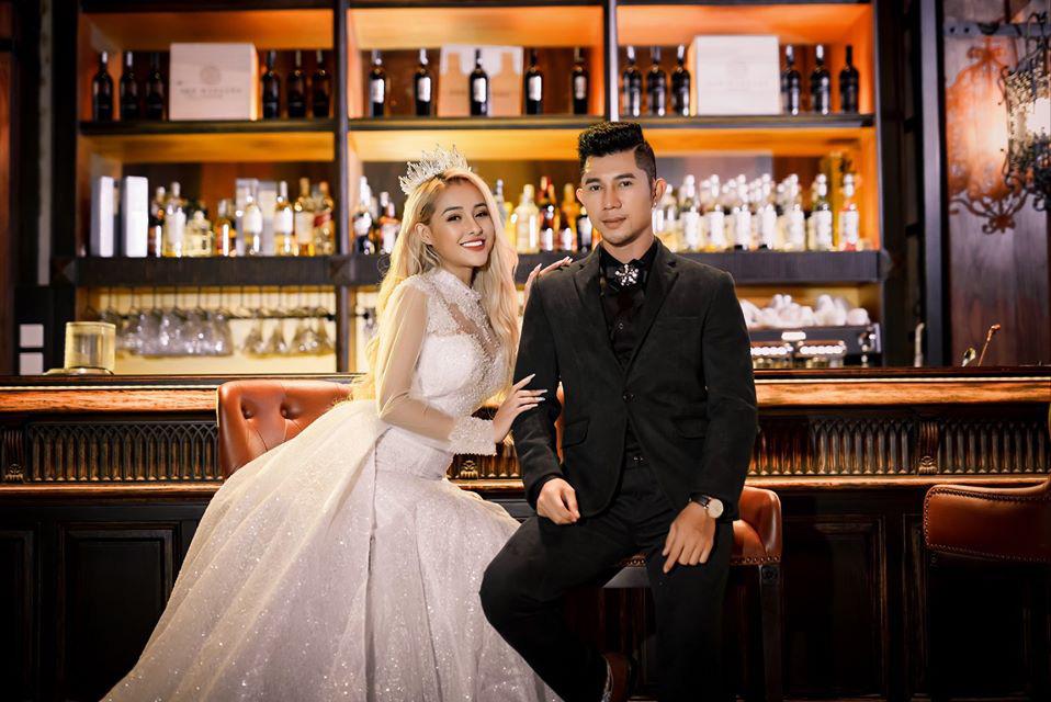 Lương Bằng Quang tung loạt ảnh cưới khi bị nghi ngờ tạo chiêu trò nhưng lại không chịu nhận mình là chồng của Ngân 98 - Ảnh 3.
