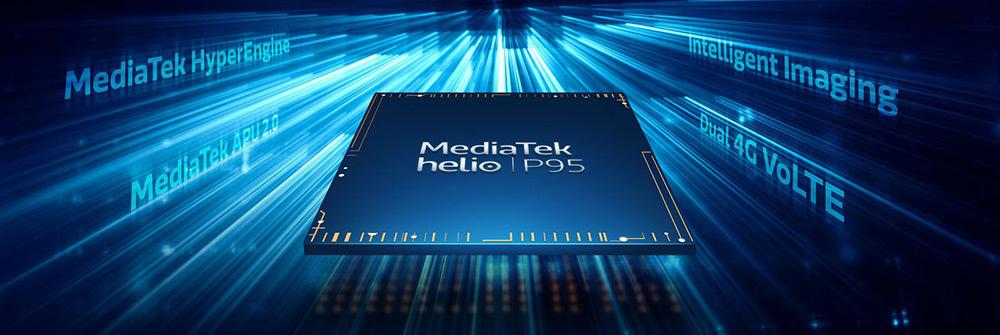 MediaTek ra mắt vi xử lý tầm trung Helio P95 - Ảnh 1.