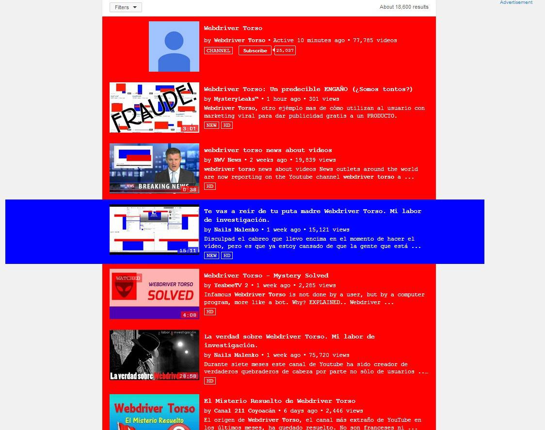 Sự thật đằng sau 77.000 video bí ẩn do Webdriver Torso đăng tải trên Youtube - Ảnh 4.