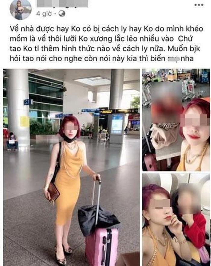 Vụ cô gái về từ Daegu lên mạng khoe trốn cách ly: Phun khử trùng bán kính 200m tại nơi ở cùng mẹ và em - Ảnh 1.