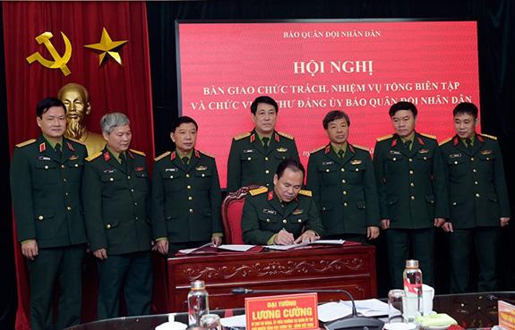 Đại tá Đoàn Xuân Bộ phụ trách Tổng biên tập báo Quân đội Nhân dân - Ảnh 1.