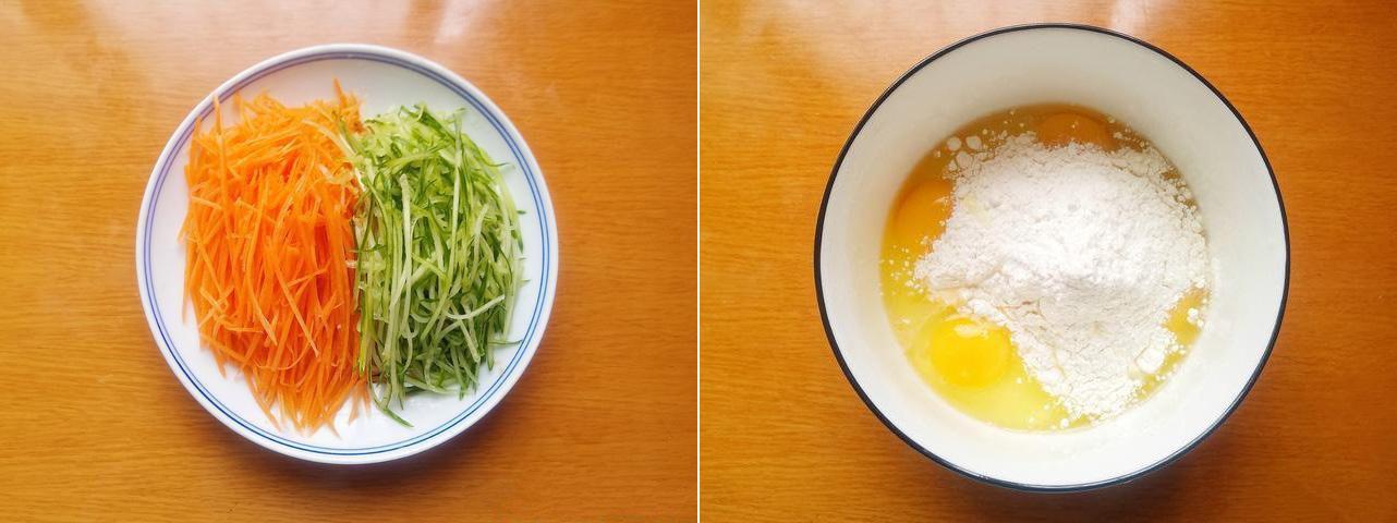 Bánh trứng rau củ ngon ngon cho bữa sáng - Ảnh 1.