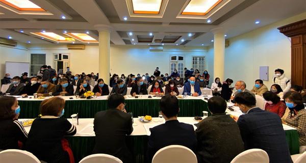 """Hiệp hội Du lịch Việt Nam tổ chức Hội nghị trực tuyến """"Giải pháp hạn chế tác động của dịch viêm phổi cấp do chủng mới của vi rút corona (nCoV)"""" - Ảnh 1."""