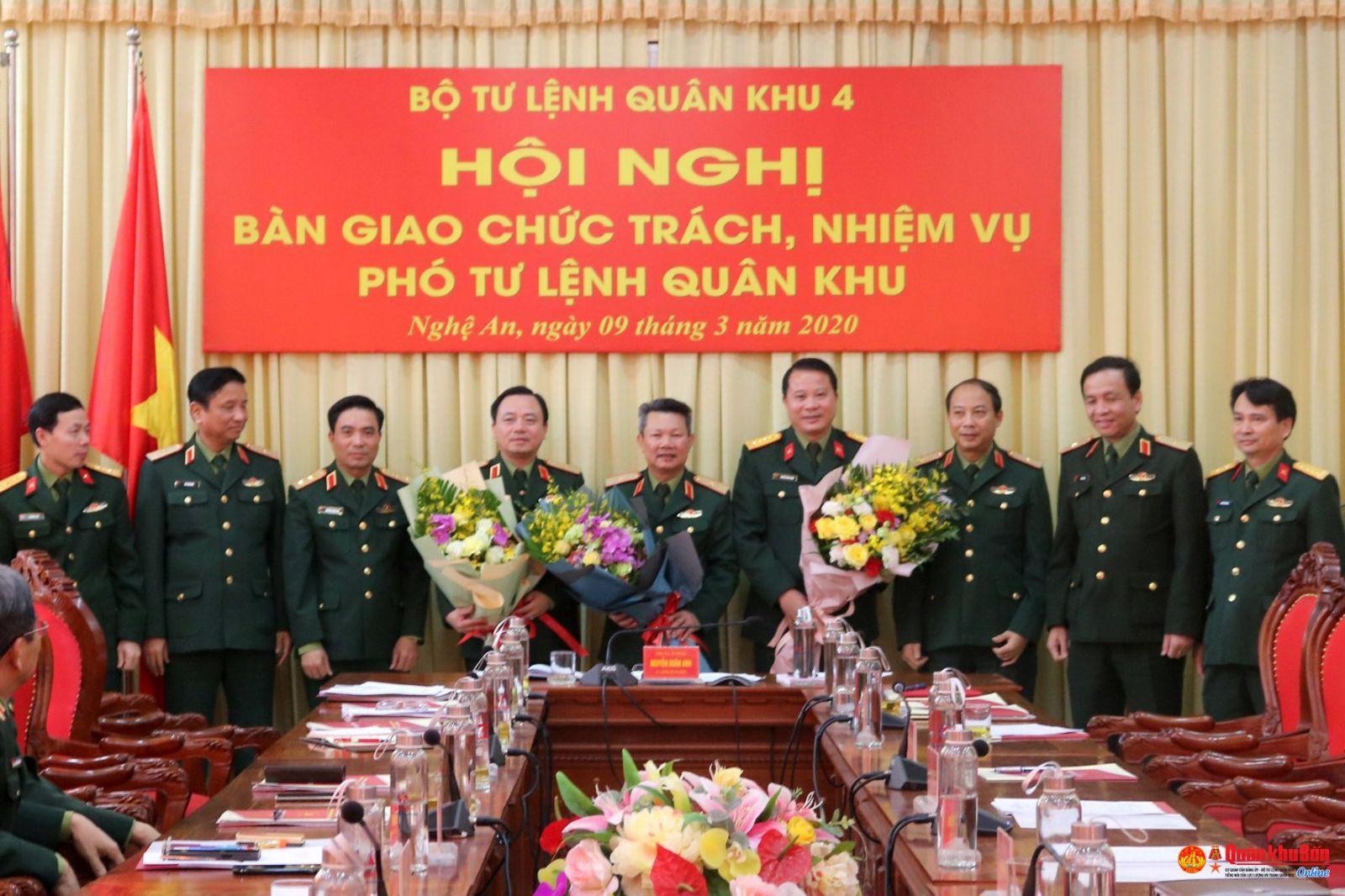Thủ Tướng Chinh Phủ điều động Va Bổ Nhiệm Chức Vụ Pho Tư Lệnh Quan Khu 4