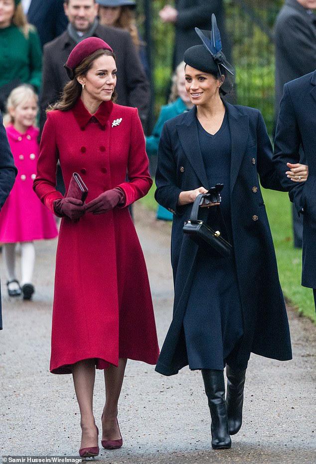 """Động thái chứng tỏ Công nương Kate đã chính thức đặt dấu chấm hết cho """"cơn sốt Meghan Markle"""" từng khuấy đảo nước Anh - Ảnh 1."""