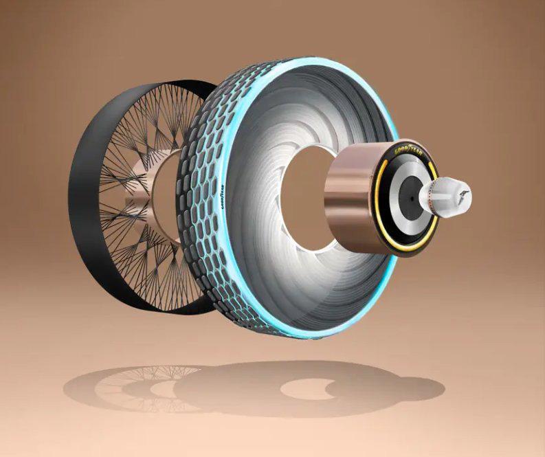 Goodyear phát minh ra loại lốp mới không bao giờ cần thay, mặt lốp có khả năng tự tái sinh - Ảnh 2.