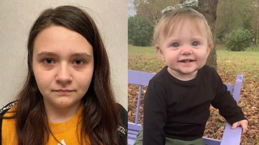 Bé gái 15 tháng tuổi mất tích được 1 tháng trước khi thi thể được tìm thấy trong mảnh đất của gia đình nhà ngoại - Ảnh 2.