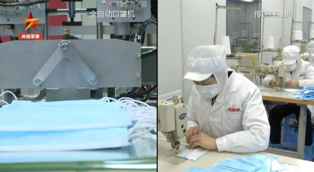 Trung Quốc áp dụng công nghệ chế tạo máy bay phản lực để sản xuất khẩu trang - Ảnh 2.