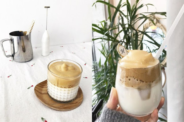 """Trổ tài """"bắt trend"""" làm loại cafe đang hot ở Hàn Quốc Dalgona phiên bản Việt khiến dân mạng phát cuồng - Ảnh 1."""