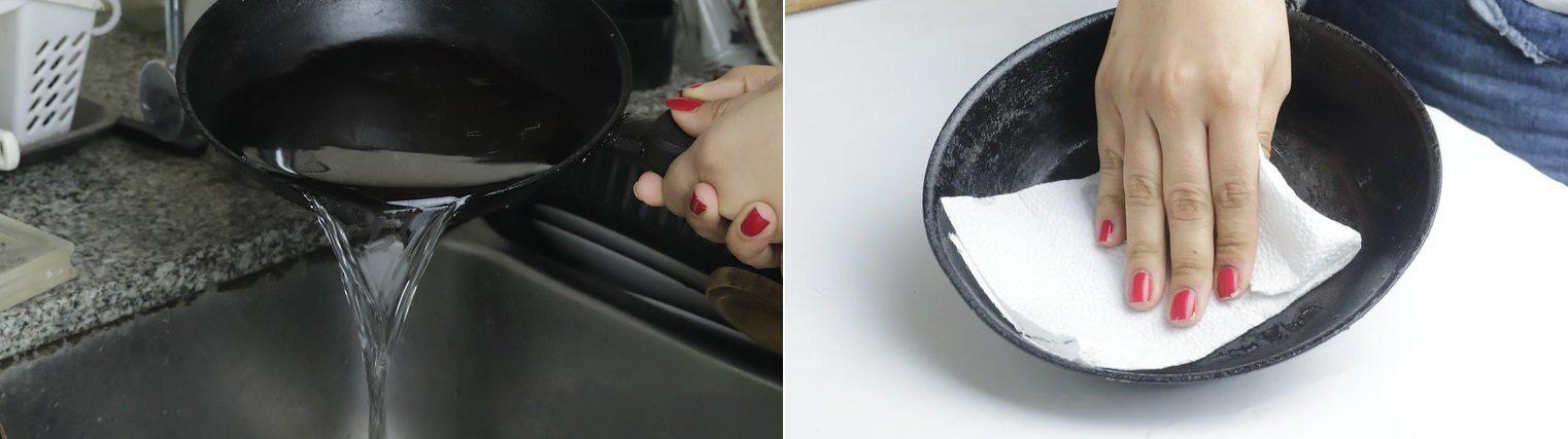 Muốn giữ chảo gang được bền, bạn hãy ghi nhớ ngay 2 cách làm sạch này nhé! - Ảnh 2.