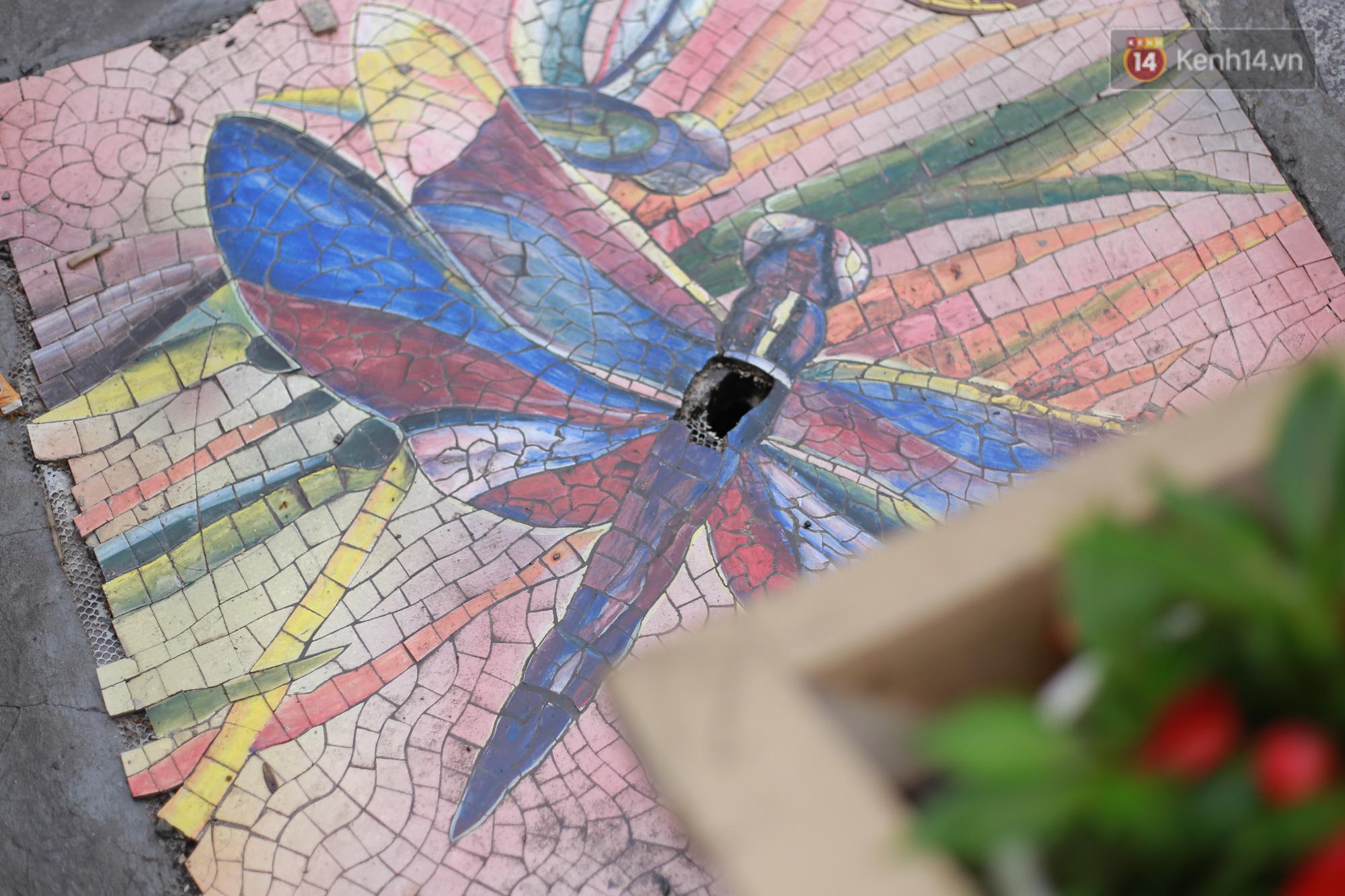 """Ảnh: Nắp cống, hố ga """"vô tri, vô giác"""" tại phố đi bộ Hà Nội biến thành tác phẩm nghệ thuật đẹp như tranh vẽ - Ảnh 5."""