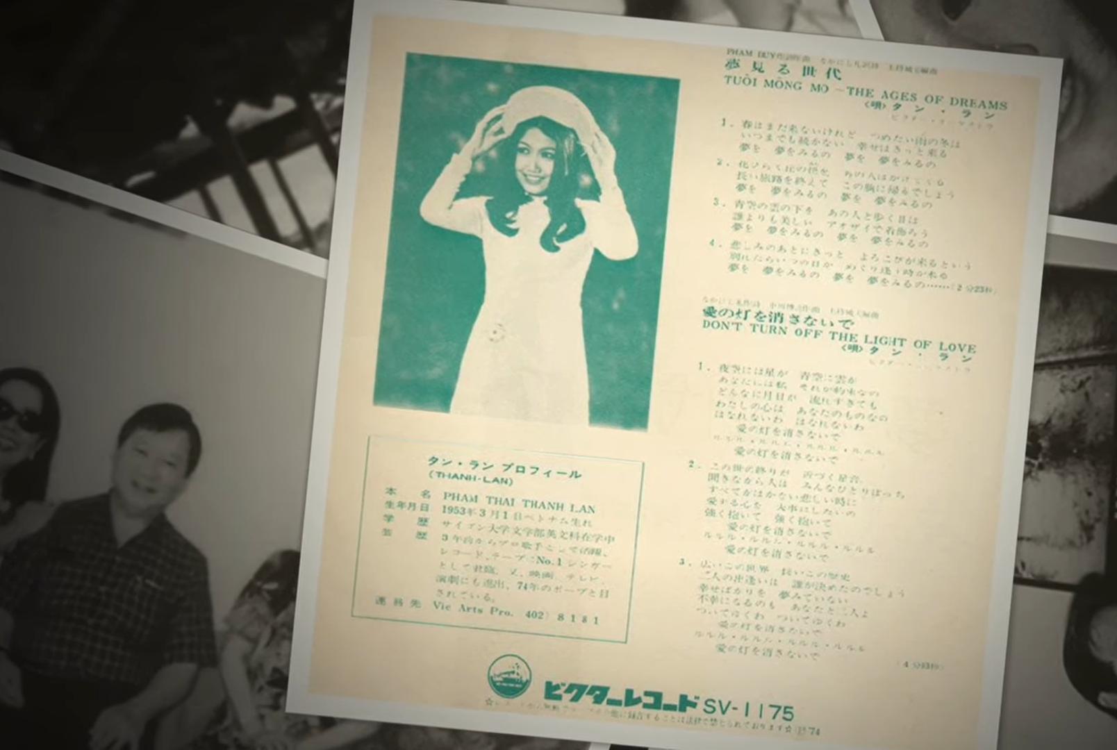 Danh ca Thanh Lan: Sự nghiệp lẫy lừng, được hãng đĩa Nhật mời thu âm, tham dự cuộc thi hát thế giới - Ảnh 5.