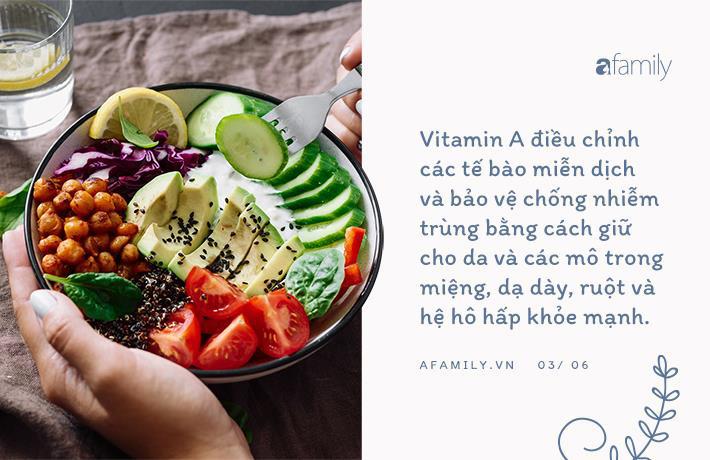 Củng cố hệ miễn dịch với các loại vitamin và khoáng chất - Ảnh 3.