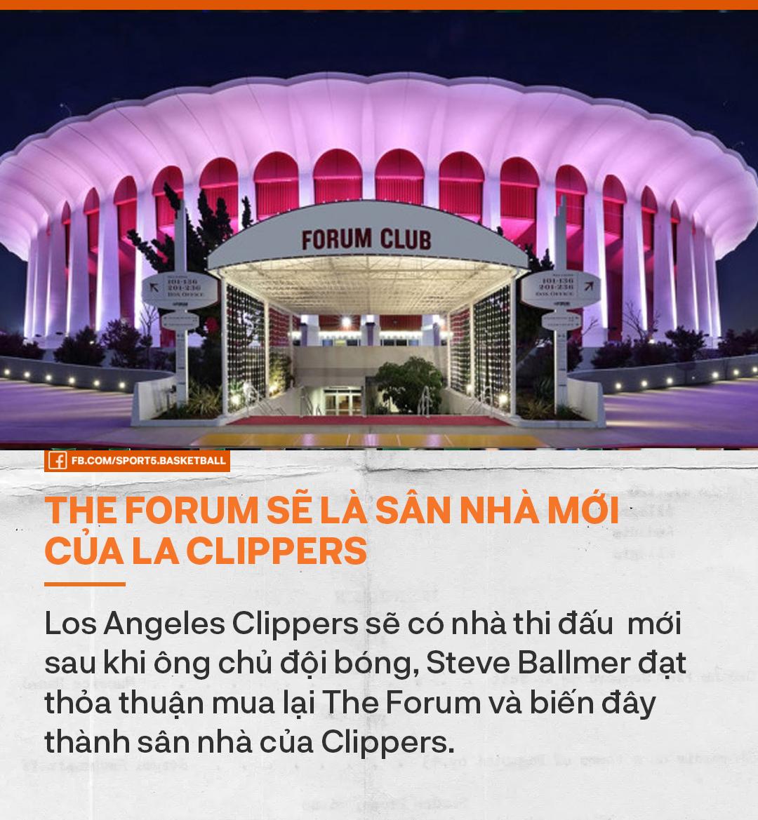 Bỏ 400 triệu USD mua sân mới, Los Angeles Clippers quyết tạo đế chế của riêng mình - Ảnh 1.