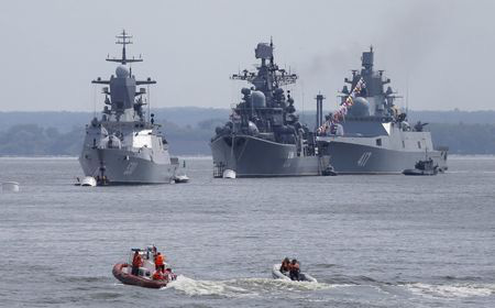 Sứ mệnh bí mật của các tàu hộ vệ Hạm đội Baltic Nga ở Bắc Đại Tây Dương: NATO  lo sốt vó? - Ảnh 1.