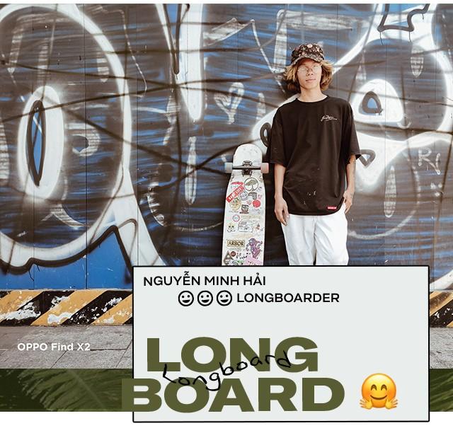 Theo chân chàng trai đam mê Longboard - bộ môn khó theo đuổi nhưng dễ si mê - Ảnh 3.