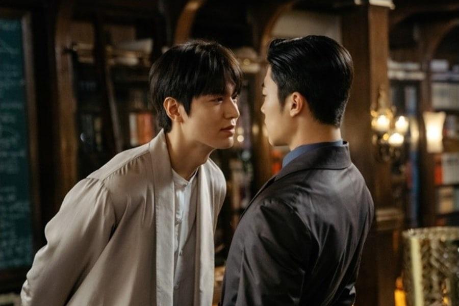 Lee Min Ho chồm tới muốn ăn tươi nuốt sống cận vệ ở Bệ Hạ Bất Tử, bức ảnh thế là đã mắt nhờ nhân đôi visual! - Ảnh 1.