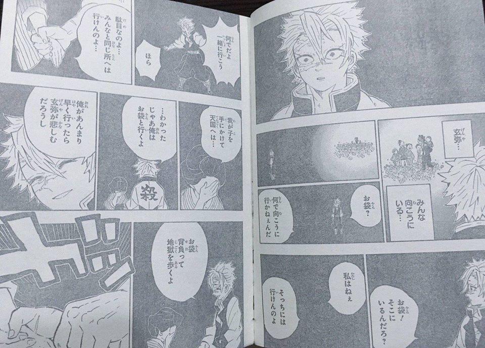 Kimetsu no Yaiba chương 200: Muzan bị đánh bại, hàng loạt nhân vật chính hy sinh - Ảnh 4.