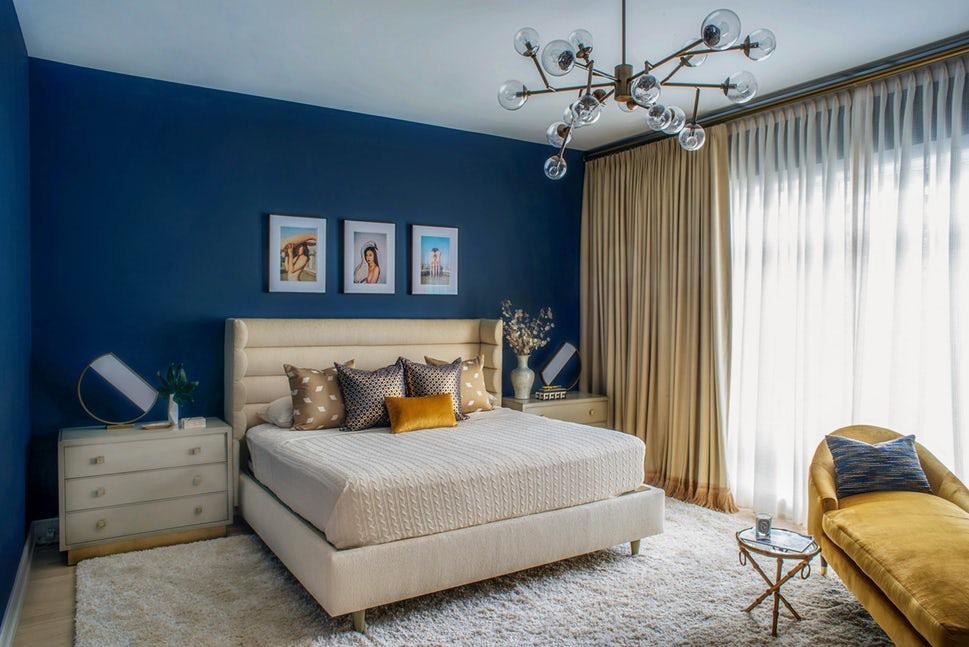 Sức lôi cuốn khó lòng chối từ những căn phòng ngủ mang sắc xanh biển cả - Ảnh 1.