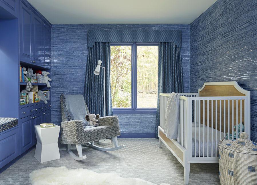 Sức lôi cuốn khó lòng chối từ những căn phòng ngủ mang sắc xanh biển cả - Ảnh 14.