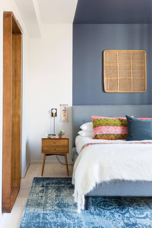 Sức lôi cuốn khó lòng chối từ những căn phòng ngủ mang sắc xanh biển cả - Ảnh 17.
