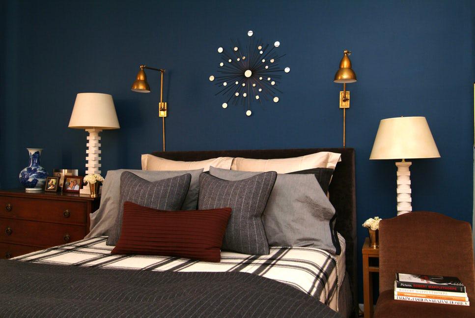 Sức lôi cuốn khó lòng chối từ những căn phòng ngủ mang sắc xanh biển cả - Ảnh 5.