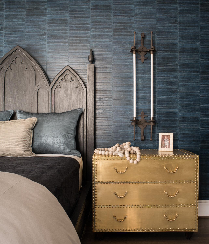 Sức lôi cuốn khó lòng chối từ những căn phòng ngủ mang sắc xanh biển cả - Ảnh 7.
