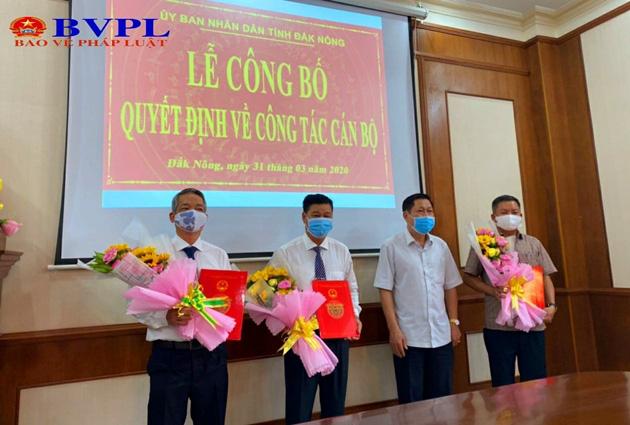 Nhân sự mới tại các tỉnh Long An, Đắk Nông, Bắc Giang - Ảnh 2.
