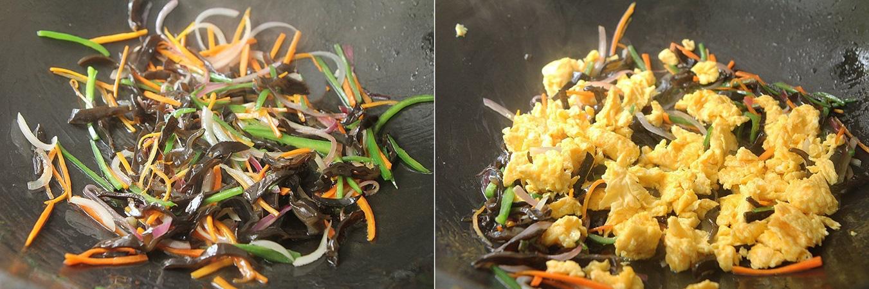 Trứng xào rau củ - Ảnh 3.