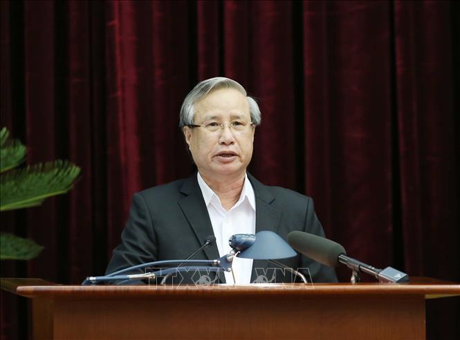 Tổng bí thư, Chủ tịch nước Nguyễn Phú Trọng chủ trì hội nghị cán bộ toàn quốc của Đảng - Ảnh 5.